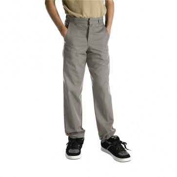 Dickies Boys (Sizes 8-20) 56562 Silver - Front