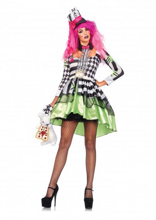 Leg Avenue85459  Deliriously Mad Hatter
