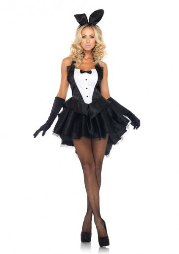 Leg Avenue 3PC Tux and Tails Bunny Set 83951