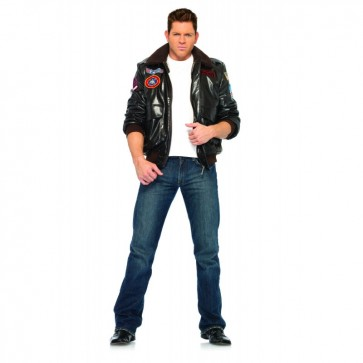 Leg Avenue TG83703 TOP GUN MEN'S BOMBER JACKET
