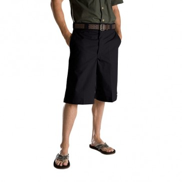 Dickies WR815 Stripe Twill Shorts - Black Front
