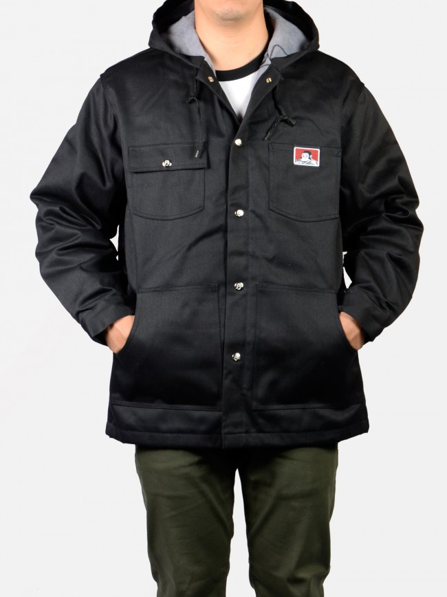 Ben Davis Hooded Jacket Front Snap