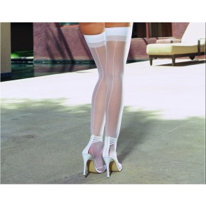 DreamGirl Moulin Sheer Thigh High Stocking 0007 Style 7
