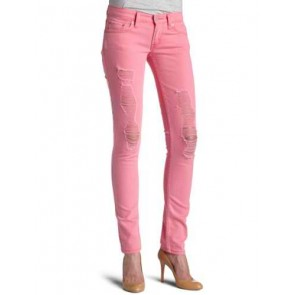 Levi's 524 Hot Pink Front