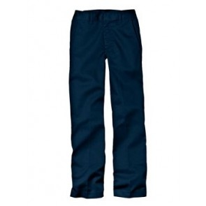Dickies 56062 Boys' Classic Fit Straight Leg Flat Front Pant (Husky)
