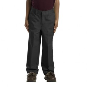 Dickies 56362 Boys' Preschool Classic Fit Straight Leg Flat Front Pant