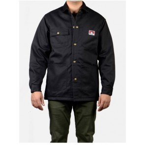 Ben Davis Original Jacket – Front Snap - Black