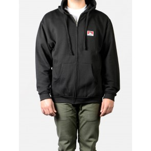 Ben Davis Hooded Zip Sweatshirt - Black