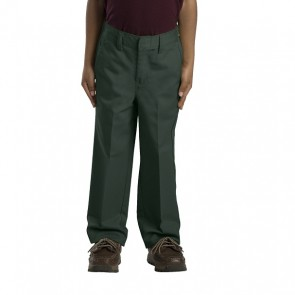 Dickies Boys (Sizes 4-7) 56362 Hunter Green - Front