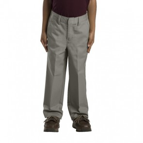 Dickies Boys (Sizes 4-7) 56362 Silver - Front