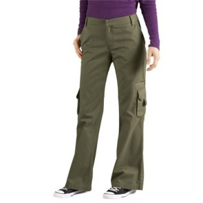 Dickies FP777 Women's Relaxed Cargo Pant