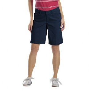 "Dickies FR215 Women's 10"" Relaxed Stretch Twill Short"