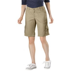 """Dickies FR327 Women's 10"""" Relaxed Fit Cotton Cargo Short"""