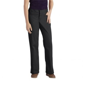 Dickies KP7711 Juniors' Stretch Welt Pocket Flare Bottom Pant