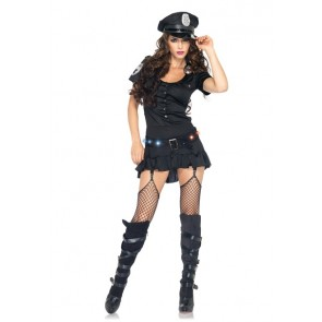 Leg Avenue 4PC Sergeant Sexy Set 83952