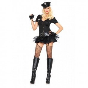 Leg Avenue 83619 OFFICER BOMBSHELL