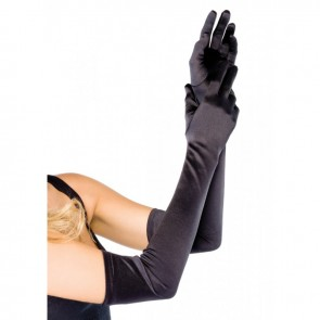 Leg Avenue 16B EXTRA LONG SATIN GLOVES