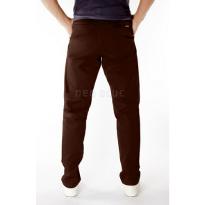 Noe Blue 6510 Dark Brown (Chino Pants)
