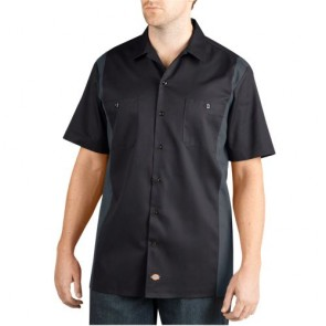 Dickies WS508 Men's Two-Tone Short Sleeve Work Shirt